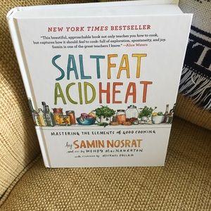 Salt fat acid heat cookbook. Brand new.